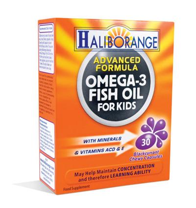 Haliborange for Omega fish oil advanced support